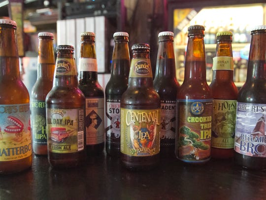 The beer selection at Champ's Pub -- 2014 file photo