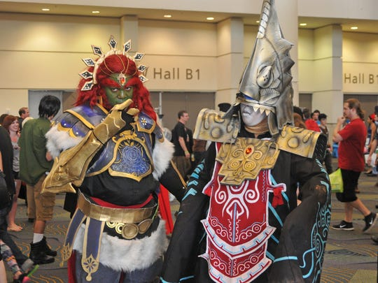 MegaCon is a comic book and sci-fi convention held every year at the Orange County Convention Center in Orlando.