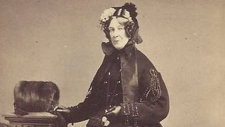 Isabel Cassat Small helped organize the Ladies Aid Society to provide aid for wounded soldiers in the Civil War. She later was involved in the startup of the Children's Home of York. Her husband was leading York businessman Samuel Small.