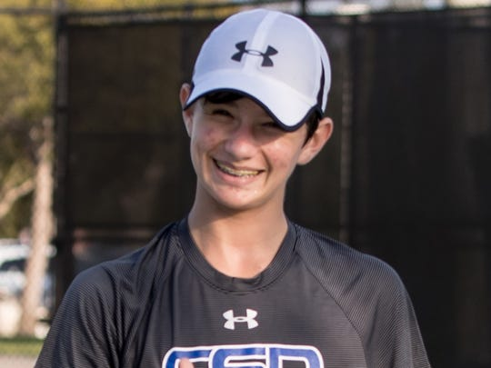 Sebastian Dounchis, Community School tennis