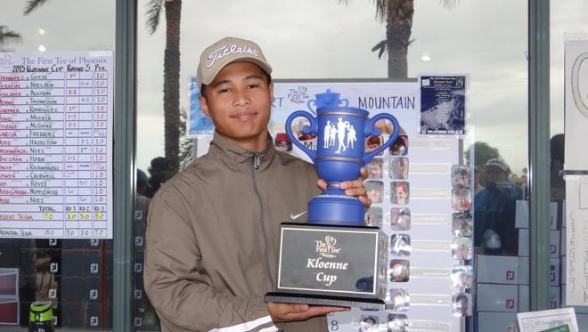Patrick Fernandez, a Surprise teen, will play golf with the pros in Pebble Beach.