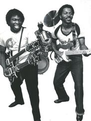 One Way's Dave Roberson and Kevin McCord in 1981