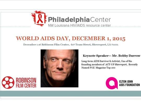 World AIDS Day postcard.