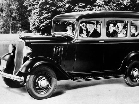 1935 THE FIRST CHEVROLET SUBURBANChevrolet introduced