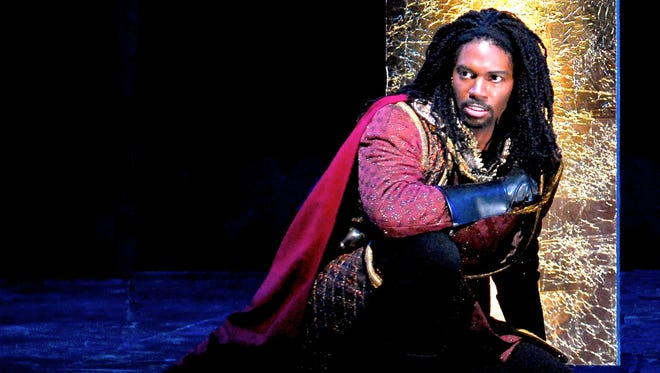 """Nmon Ford loves playing bad guys. Here he performs a role of Count di Luna in """"Il Trovatore for Virginia Opera"""