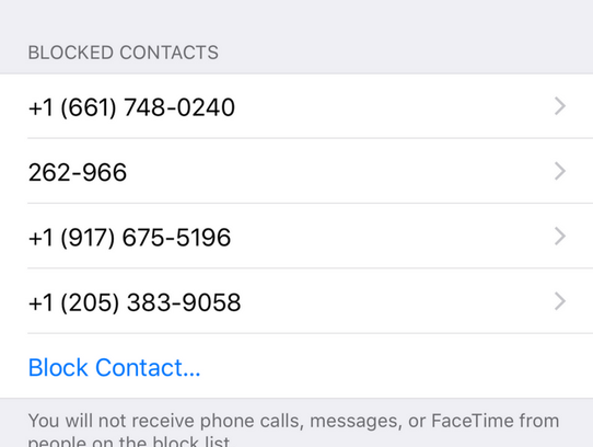 Here's where to block calls on your iPhone.