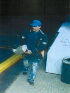 Livonia police are looking for this man, whom they say broke into two businesses in the city earlier this month.