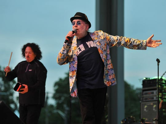 The Turtles (Mark Volman, left, and Howard Kaylan) would be OK with locally produced beer, had the Indiana State Fair been able to provide it.