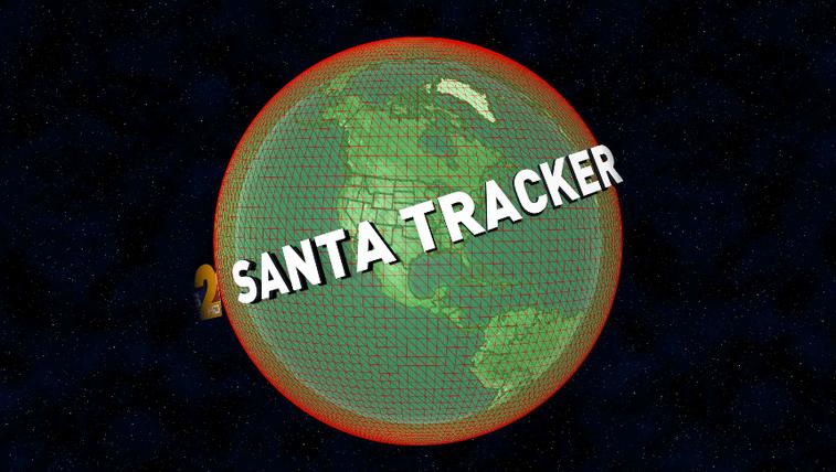 WFMY News 2 Santa Tracker