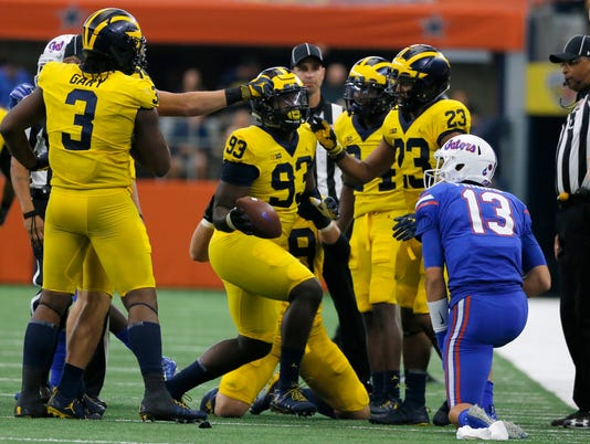 Wolverines vs. Gators, Lawrence Marshall