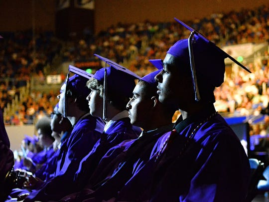 Spanish Springs High School graduation ceremony at