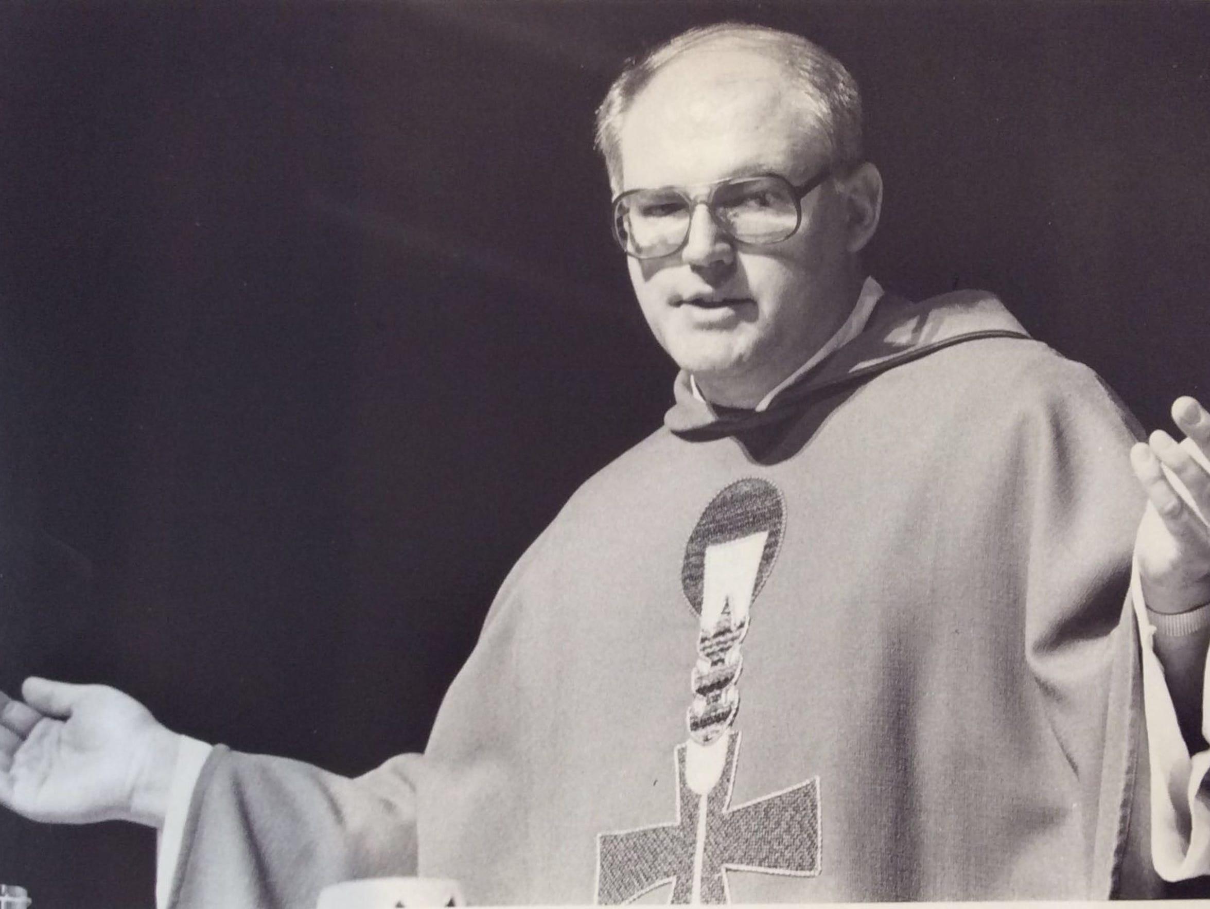 The Rev. Jonathan Wehrle celebrates St. Martha Parish's