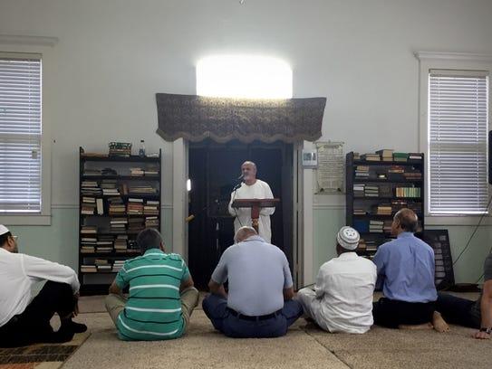 Adel Nefzi, associate imam at Islamic Center of Fort