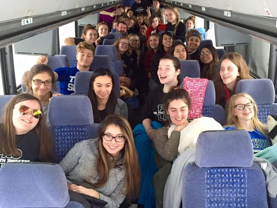 Cathedral and Chatard students were among those stranded for 23 hours on the Pennsylvania Turnpike.