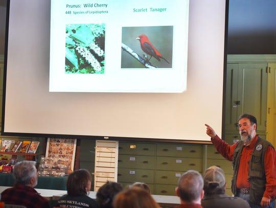 Don Torino, president of the Bergen County Audubon