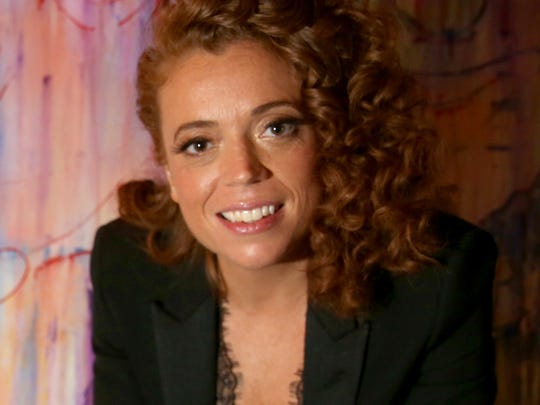 Comedian Michelle Wolf attends an after party following her controversial monologue from the White House Correspondents' Dinner Saturday.