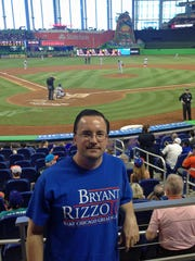 I went to see the Cubs play the Marlins in Miami in