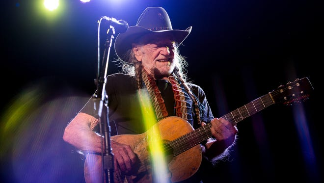 Willie Nelson and Family perform at War Memorial Auditorium in Nashville, Tenn., Saturday, Jan. 7, 2017.