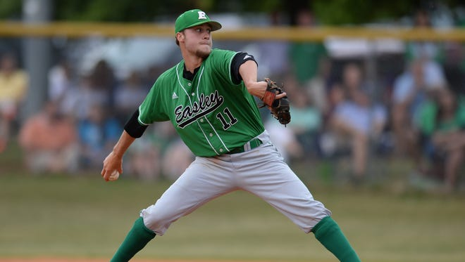 Easley's Logan Chapman is the Player of the Year on the 2017 USA TODAY High School Sports ALL-USA South Carolina Baseball Team.
