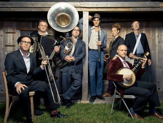 The Panorama Jazz Band from New Orleans will be a guest