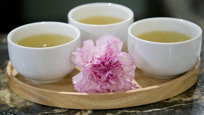 White tea at Diversi-Tea in Stevens Point.
