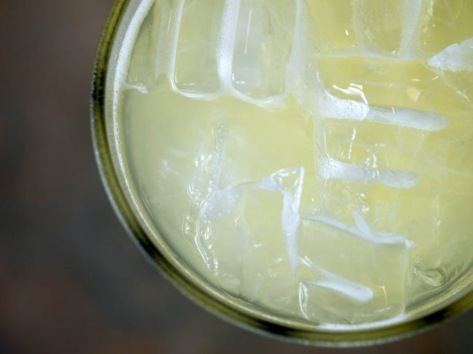 The Big Fatty margarita will be served to celebrate Cinco de Mayo at Big Fatty's in Bearden Monday, May 2, 2016.