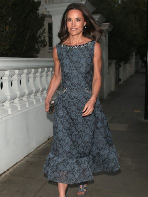 Pippa Middleton arriving for the ParaSnowBall 2017