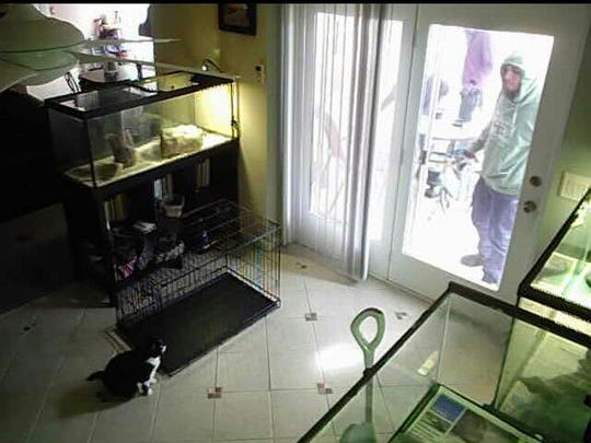 State Police posted this previously unreleased photo of a fourth home burglary suspect on their social media pages.