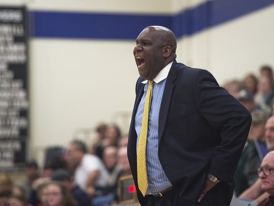Greencastle boys basketball coach Gary Martin is picking