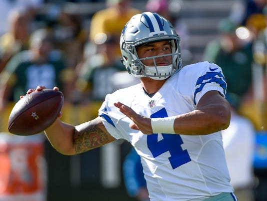 USP NFL: DALLAS COWBOYS AT GREEN BAY PACKERS S FBN USA WI