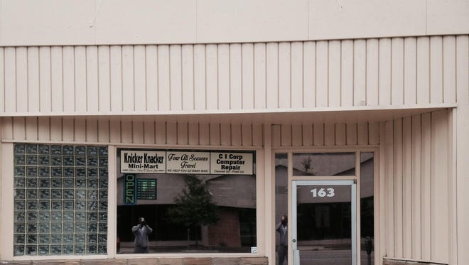 The Knicker Knacker Mini-Mart opened in July.