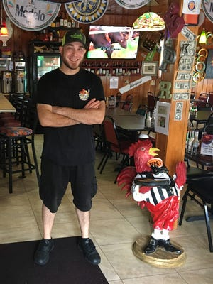 Michael Miceli is the chef-owner of El Pollo Rico on Pine Island.