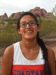 Nichole Segay runs cross-country for Camelback High