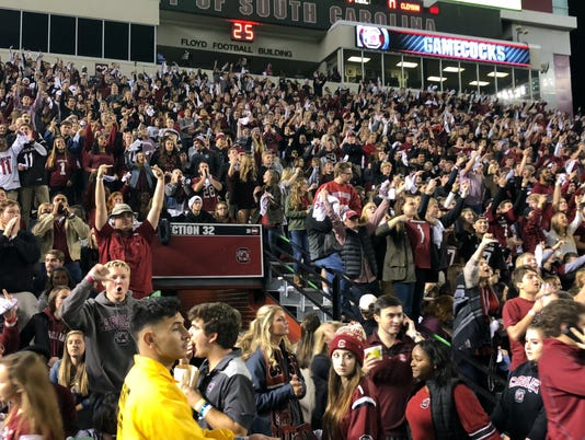 Clemson South Carolina fans