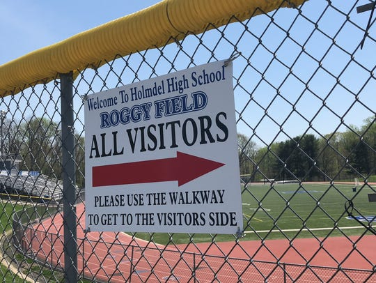Holmdel's Roggy Field.