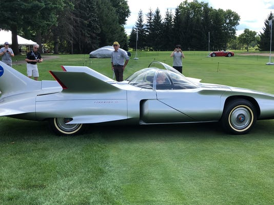 gm s space age firebird turbine car concepts on display