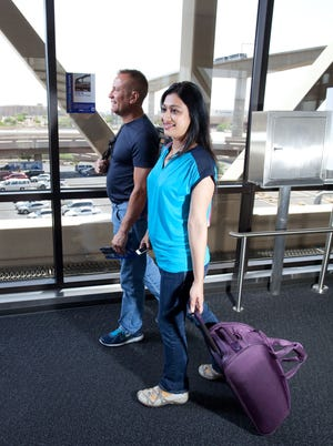 Sky Harbor offers options for staying fit, including a fitness trail from Gate A30 to Gate D8.