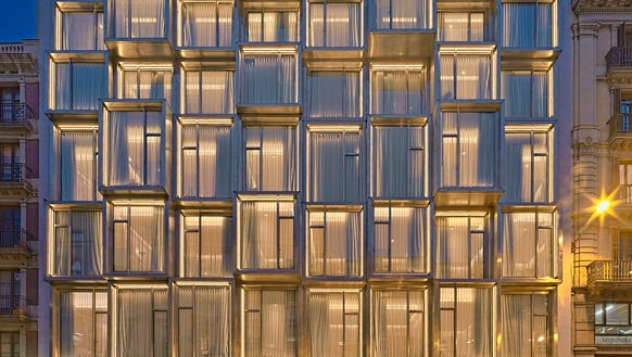 H10 Cubik is the 19th best reviewed hotel in Barcelona,