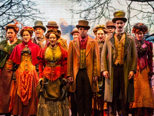 A huge cast takes the stage in Delaware Theatre Company's