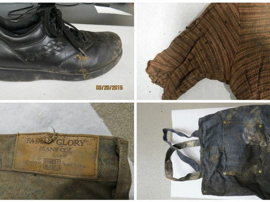 These items were found near the remains of a woman police and other law enforcement officials are still trying to identify a year after their discovery.