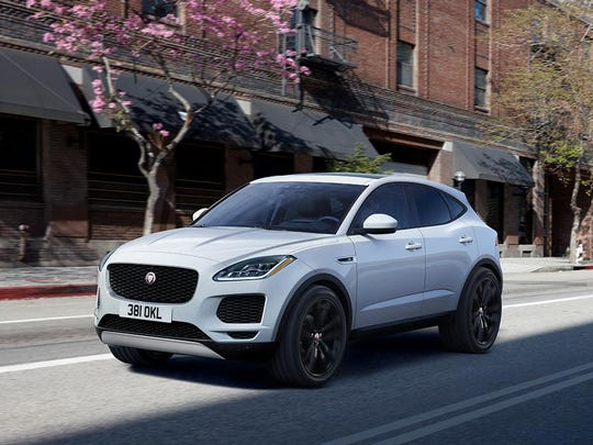 The Jaguar E-PACE will be at this year's Des Moines