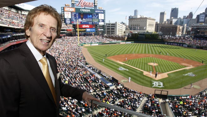 Mike Ilitch, Ron's father, owns the Detroit Tigers and Red Wings,