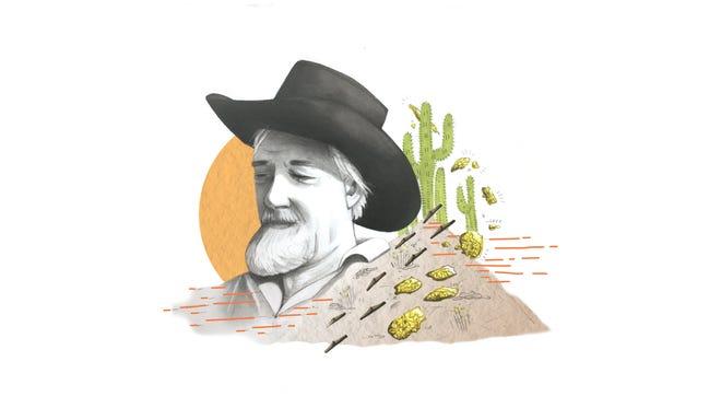 Original desert rat Harry Oliver