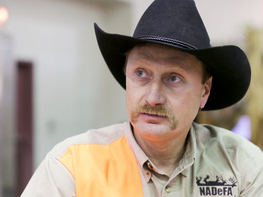 Shawn Schafer, executive director of the North American Deer Farmers Association, is a strong supporter of deer farmers' rights and thinks more stringent regulations would kill his industry.