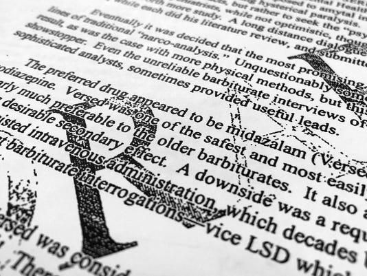 CIA Interrogation Drugs