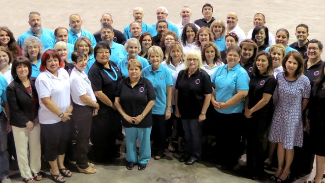 The 14th group of 58 graduates received their certifications during the New Mexico Association of Counties' annual conference in Hobbs June 23.