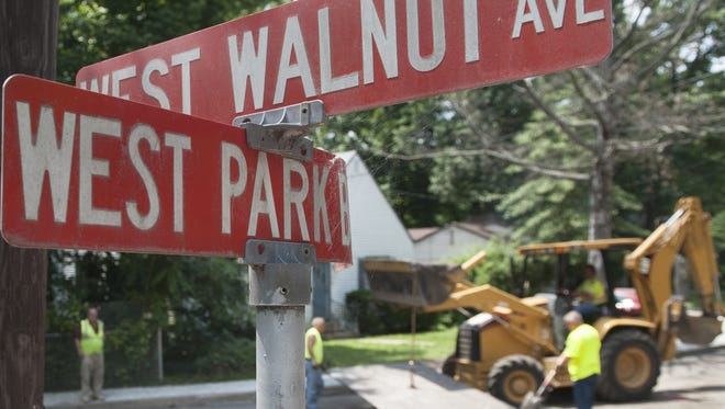 West Park Boulevard in Haddon Township is closed due to a repaving job.    07.01.14