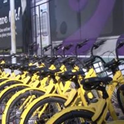 Bike-sharing companies see rapid growth, but abandoned bikes pose concerns