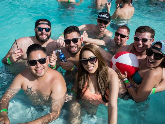 The Hotel Valley Ho hosts a variety of poolside parties