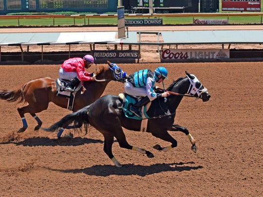 Valiant Rogue easily took a 350-yard allowance race in June and then won his Rainbow Derby trial by one-half length for trainer Judd Kearl.